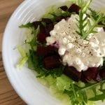 salat s rukolou a cviklou