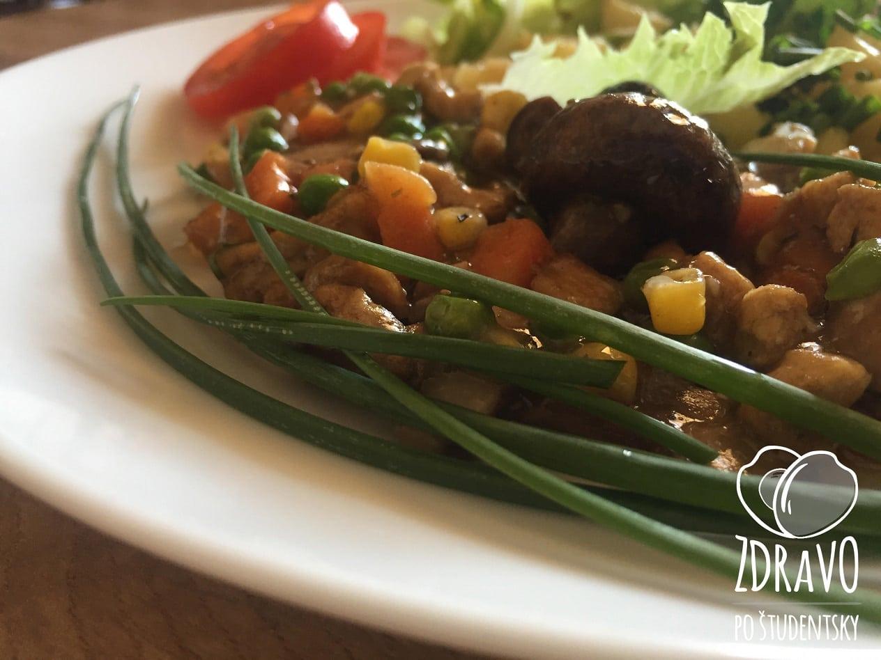 """Farebná zeleninová """"čína"""""""