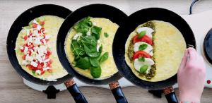 omeleta na tri sposoby