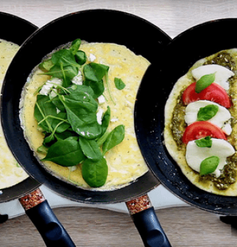Videorecept: Omeleta na 3 spôsoby