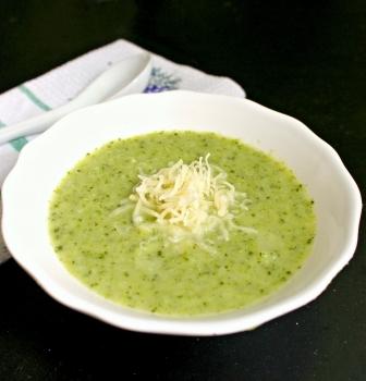 Brokolicový krém – hustá polievka bez múky