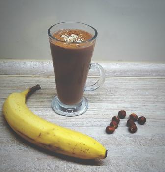 Čokoládový nápoj s gaštanovým pyré ako z kaviarne