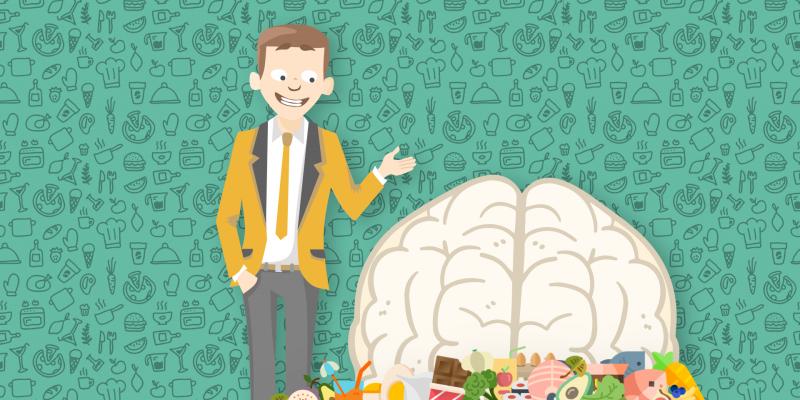 Infografika: Akú potravu (ne)potrebuje tvoj mozog