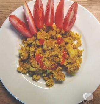 """Karfiolová """"praženica"""" – chutné a zdravé raňajky"""