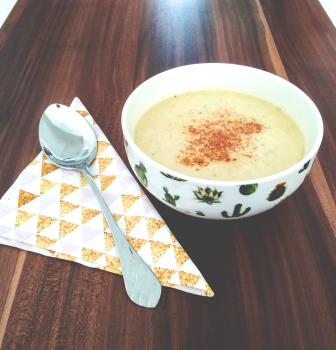 Krémová pórová polievka