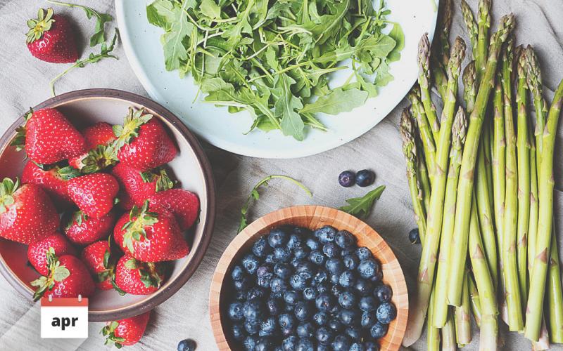 Stravuj sa sezónne: Čo jesť v apríli